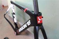 Wholesale Argon Tour De France team bike frameset UD T700 XS S M L size with matte or glossy U V barke
