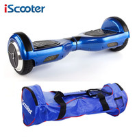 Wholesale iScooter hover board Electric scooter hoverboard Smart two wheel Self balance scooter unicycle Standing Skateboard drift