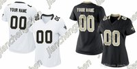 authentic saints jersey - 2016 Custom Women s New Orleans Saint White Game Football Home Away Personalized Jersey Authentic High Quality Stitched Wear