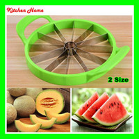 Wholesale 2 Size Watermelon Cutter Slicer Pratical Kitchen Fruit Tools Creative Fruit Cutter Fruit knife Slicer