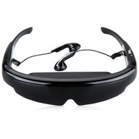 Wholesale Brand IVS D quot HD P GB Virtual Video eyewear Glasses Theater Stereo x480