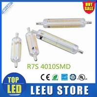 Cheap dimmable led R7S light 78mm 10w 118mm 10W 18w LED R7S lamp 360 degree beam angle J78 J118 R7S lamp perfect replace halogen lamp