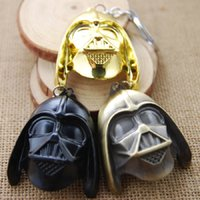 Wholesale Movie Series Key Chain Star Wars Darth Vader Soldiers Keyring Keychain for Keys Chaveiro Llavero Key Ring Key Holder F