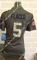 baltimore factories - Factory Out Cheap Newest Baltimore Joe Flacco Ravens Salute To Service Women Ladies Stitched Embroidery America Football Jerseys