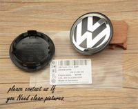 Wholesale Fast shipping mm VW Volks wagen Wheel Center Cap For VW Logo badge emblems EOS Golf Jetta Mk5 Passat B6 VW B7601171