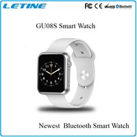 apple connecter - Smart Watch GU08s Clock Notifier Bluetooth Connectivity Apple iphone Smartwatch reloj inteligente Android Montre Connecter