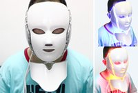 Wholesale New Product Colors LED Photon Facial Neck Mask Skin Rejuvenation Therapy Reduces Wrinkles For Home Use Beauty Machine