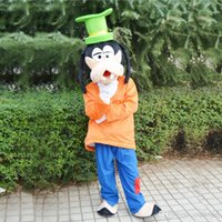 Wholesale Hot New Goofy Dog Pluto Mascot Costume Goofy Character Suit Adult Size Fancy Dress Party Factory Direct
