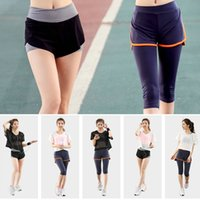 baseballs outs - Hot Sale New Women Tracksuits Net Yarn Yoga Suits Running Bra Slim Breathable Smock short Pants Sets Women Workout Clothes