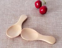 baby dinnerware - Fashion Hot Wooden Tea Spoon Creative Tableware Kusunoki Baby Milk Spoon Wood Dinnerware Coffee Spoon