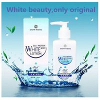 Wholesale Snow white silk protein white body lotion whole body white cream ml