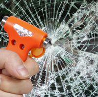 Wholesale Automotive safety hammer emergency escape tool Tip lifesaving hammer broken windows multi function car combo safety hammer