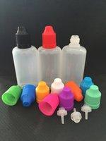 Wholesale LDPE Soft Bottles for e liquids ml ml ml ml ml Plastic Dropper Bottles Child Proof Caps ejuice Empty Bottle for eye dropper