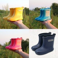 arrival galoshes - Children Boots Rain Boots New Arrival High Quality Hot Sale PVC Unisex Summer Winter Fashion Warm Japan Style Galoshes Colors