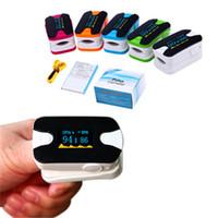 Wholesale Digital Fingertip Pluse Oximeter OLED Pulse Oximeter Display Pulsioximetro SPO2 PR Oximetro De Dedo Heart Rate Meter