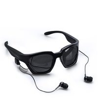 Wholesale Hiccoo Bluetooth Smart Glasses with Earphone All Compatible Anti UV Cool Sports Glasses with HiFi Stereo Headset J03