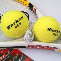 Wholesale 959 Tennis Balls with Belt Direct Manufacturers Senior WerkonTennis Balls for Single Practice that can be customized