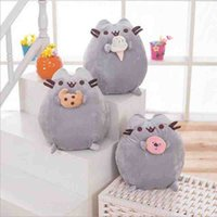 Wholesale 25CM Anime Pusheen Plush Toys Stuffed Dolls For Girls Kids Toys Gift Kawaii Pusheen Doll