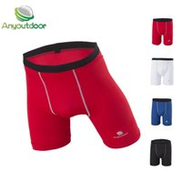 Wholesale New Anyoutdoor Man Tights Running Shorts Basketball GYM FOOTBALL Sports Fitness Compression Sweat Training