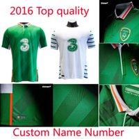 Wholesale Benwon Republic of Ireland soccer jersey Ireland away white shirt home green jerseys shirts top thai quality t shirt