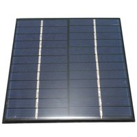 Wholesale High quality V W mA Polycrystalline silicon Mini Solar Panel module Cell For Charger DC Battery DIY x110mm