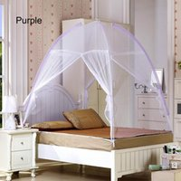 Wholesale Mosquito Net Lace Net Mesh Mosquito Net For person Easy Opening Non Install Factory Direct