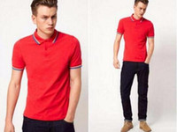 Wholesale New Men shirts perriinglys Summer Men Women Casual Style Fr Short sleeved cotton COST polos shirts
