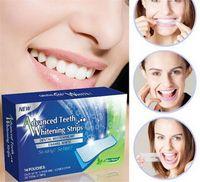 Wholesale Hot Sale A Box Degree Advanced Teeth Whitening Strips Dental Whitening Kit Enamel White Whitestrips