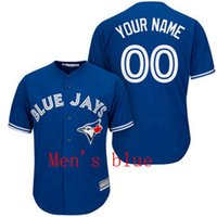 Wholesale Baseball jersey Toronto Blue Jays Custom jersey Personalized jersey any name any number name number Stitched