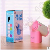 Wholesale 120pcs CCA4058 High Quality Mini Portable Perfume Turbine Fan Air Cleaning Cooling Aroma Charming Handheld USB Charging Office Dormitory Fan