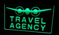 animal agency - LS133 g Travel Agency Neon Light Sign jpg