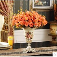 Wholesale The creative flower vase Home Furnishing decorative handicrafts Christmas and wedding room decoration