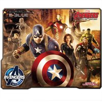 Wholesale E lue computer game E lue E Blue the The Avengers Gaming Mouse Pad Two Kinds to Choose fresh