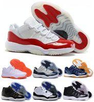 Wholesale Seller China Jordan Basketball Shoes Sneakers Women Men Black China Jordans Retro XI Low Man Bred Georgetown Space Jam Citrus GS