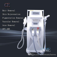 Wholesale CE Approved Hot Proffessional OPT E LIGHT IPL RF skin care hair removal machine IPL hair removal Beauty equipment