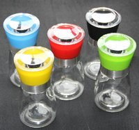 Wholesale 1 PC manual glass Pepper Salt Herb spice Mill Grinder Gourmet Cooking Set Kitchen high quality kitchen tools