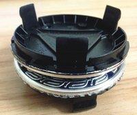alloy mercedes - C04 blue silver Three pointed star original mm wheel hub cap emblem badge p n rim center cap