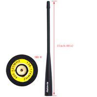 Wholesale 5pcs Original MHz Short cm Dual Band SMA M Antenna For Retevis RT2 Two Way Radio J6489A