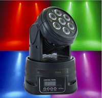 Wholesale Guangzhou mini dmx wash moving head LED Moving Head Mini wash x12w RGBWA IN LED effect stage light
