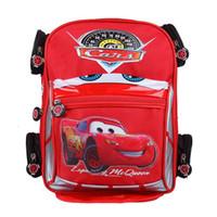 Backpacks Polyester Unisex Good Quality 3D car Backpack School bag Children Character Car-styling Backpacks For Kids Cars Boys Backpack Child School Bag