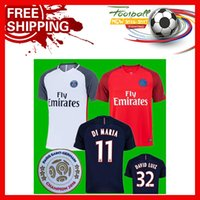Wholesale 2016 Best Quality psg Bsoccer JerseyAINES LUKAKU BARKLEY shirt Jagielka Home Football Blue Shirt Custom