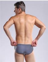 Wholesale Hot Men Swimwear Swimsuits Brand Swimming Briefs Bikini Nylon Sexy Mens Swim Suits Boxer Trunks Surf Boardshorts Low Waist