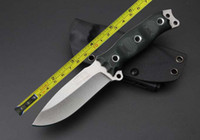 Wholesale BUSSE NEW Stone wash D2 Blade G10 handle Outdoor camping knife B01