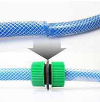 Wholesale Inch Plastic Water Hose Connector Garden Water Pipe Restore Joint Your Best Choice