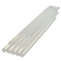 Wholesale Set White Plastic Hot Melt Glue Sticks for Electrical Appliances Paper Products Home Office School Supplies mmx7mm
