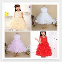 baptism cakes - Sell like hot cakes Baby Girl Wedding Party Baptism Christening Lace Flower Dress