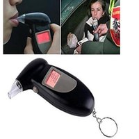 Wholesale Backlit Display Digital LCD Breathalyzer Audible Alert Breath