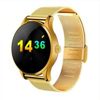 apple touch technology - Fashion K88H Smart Watches multi language Heart Rate Wearable Technology Sleep Tracker Passometer Smartwatch D Touch Android iOS Apple