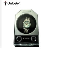 automatic turn table - Jebely Single watch winder Automatic mechanical watch box turn table ware JA084 elegant black