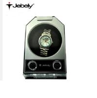 Wholesale Jebely Single watch winder Automatic mechanical watch box turn table ware JA084 elegant black